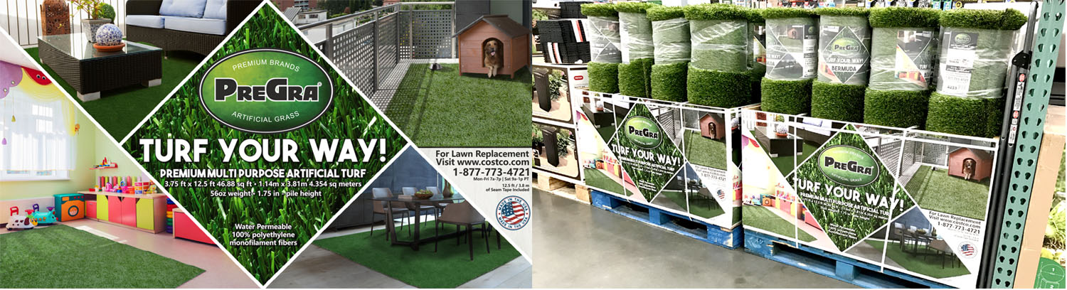 Pregra premium artificial grass your way do it yourself premium multi purpose artificial grass not just turf for your backyard but turf for your diy projects kids room dog runs solutioingenieria Choice Image